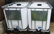 Preissenkung 600l Regenwassertank Wassertank