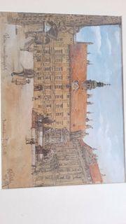 Signiert datiert Rudolf Pichler 1922