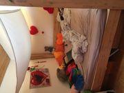 Akazienholz Baldachinbett Himmelbett Bett