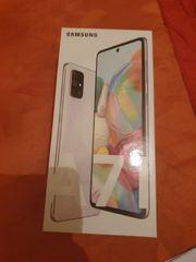 Samsung Galaxy A71 silber Neu