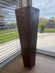 Vase Übertopf Rostiges Stahlblech