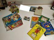 70er Jahre Spiele Tierlotto Steckpuzzle