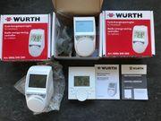Funk Heizkörper-Thermostat mit Wandthermostat