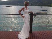 Hochzeitskleid im Meerjungfrau -Stil