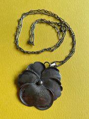 Designer Halskette 885er Silber