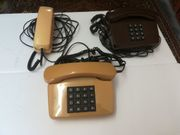 3 Stück Ältere Tasten Telefone