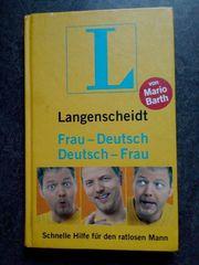 Mario Barth Frau-Deutsch Deutsch-Frau Langenscheidt