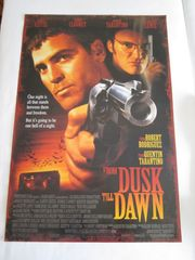 Film Poster From Dusk Till