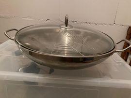 Bild 4 - Silit Wokpfanne- Edelstahl - 37cm Durchmesser - Reilingen