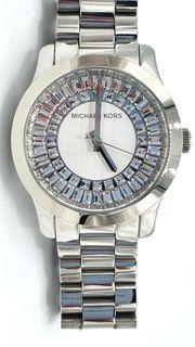 Michel Kors Uhr mit Strasssteinen