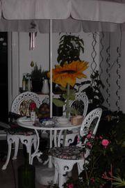 Hochwertige Gartenmöbel aus Metall für