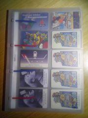 Sammelalbum für Telefonkarten mit 10