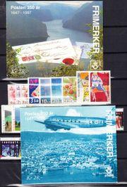 Norwegen-Sammlung 1988 bis 1999 postfrisch