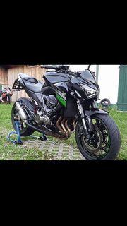 Kawasaki Z800 mit ABS