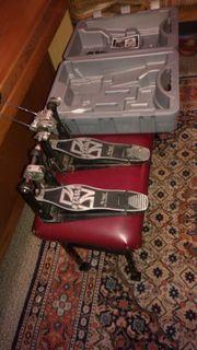 Doppel Fuß Maschine Tama Iron