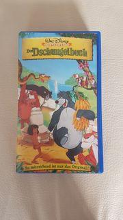 VHS Film Das Dschungelbuch