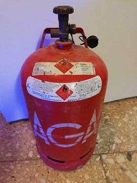 Bild 4 - leere 5 kg Propangasflasche - Pegau