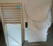 Baby Bett 140x70 cm Lattenrost