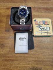 Sehr schöne Blue Watch Fossil