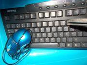 2x PC-Tastaturen mit Maus
