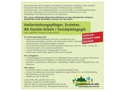 Heilerziehungspfleger Erzieher BA Soziale Arbeit