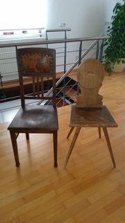 Antike Holzstühle