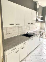 Verkaufe moderne Einbauküche einzeilig
