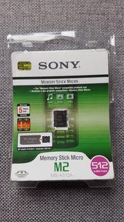 Sony Memory Stick Micro M2