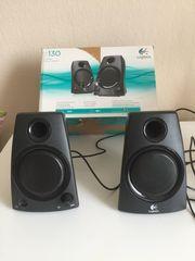 Logitech Lautsprecher Z130 schwarz