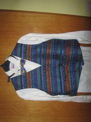 Hemd mit Weste und Fliege