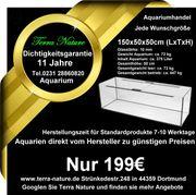 Aquarium-Handel 150x50x50cm 375 L