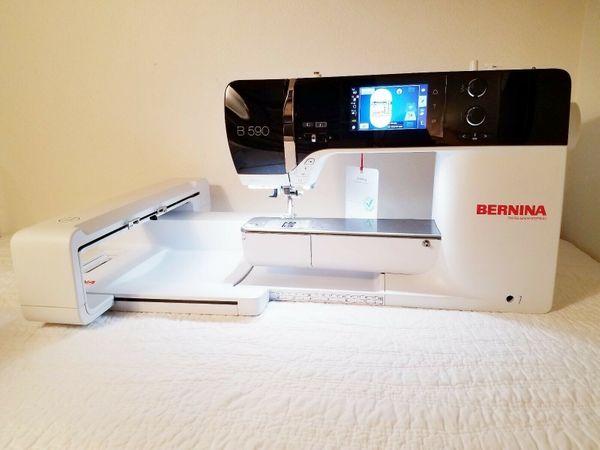 Bernina B 590 Nähsteppmaschine mit