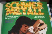 Schwermetall Fantastische Comics für Erwachsene