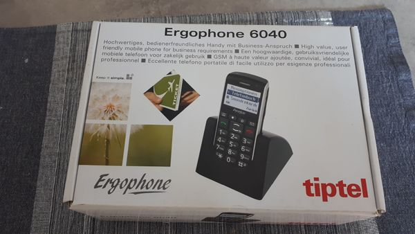 Seniorenhandy Ergophone 6040 in Herne Sonstige Handys