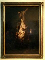 Antikes Gemälde Niederländer Altmeister - wohl