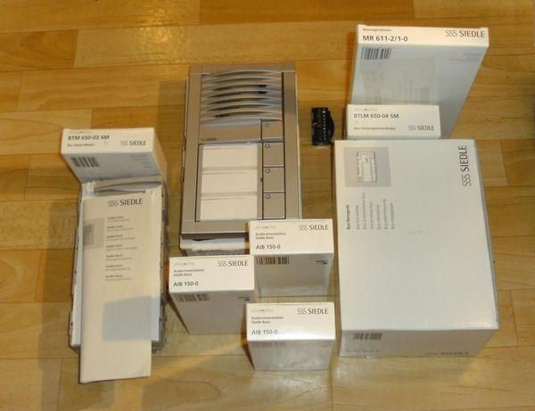 Siedle Sprechanlage Komplett-Paket 3 Familienhaus