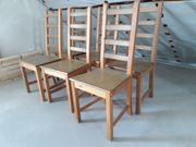 6 Ikea Holzstühle