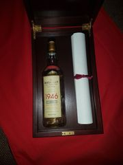 Macallan Scotch Whisky 1946