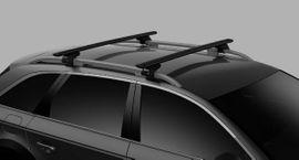 Fahrrad-, Dachgepäckträger, Dachboxen - Thule Dachbox mit Dachträger