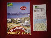 Der offizielle DCC-Campingführer Europa