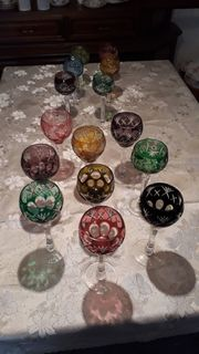 Römer Gläser Bleikristall