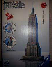 3D Puzzle Empire State Building