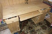 Wunderschöner Schreibtisch vollholz
