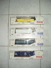 PIKO HO 4 neue Güterwagen