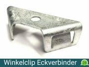 Gabionen Winkelclip Eckverbinder f Doppelstab