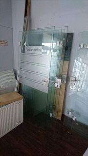 Glasinnentüren 95 cm breit 197