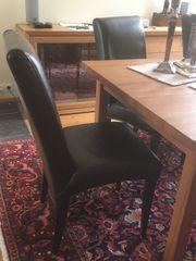 Stühle Esszimmer Kunstleder