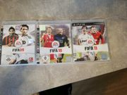 PS3 Spiele FIFA 2009 - 2011