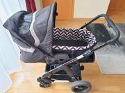 ABC-Design Turbo 4S Kombi-Kinderwagen Neugeborene