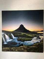 Leinwandbild Landschaft Naturbild 1x1 Meter
